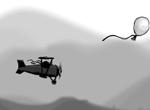 Полет за шарами